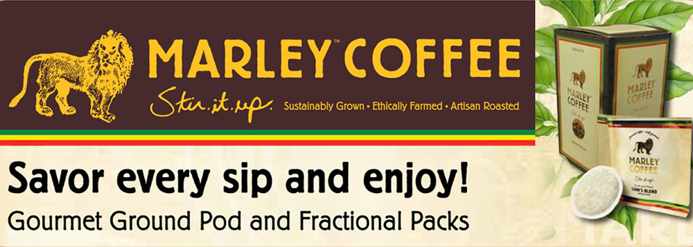 Marley Coffee Packages